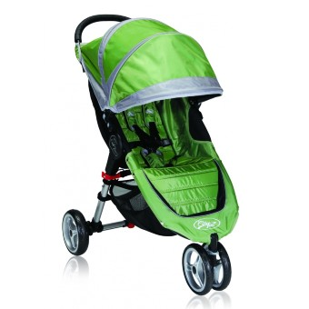 Baby Jogger City Mini Single / зелено-серый