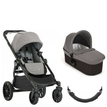 BABY JOGGER CITY SELECT LUX/ Slate 2 в 1